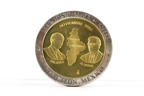 Carlos Salinas Medal