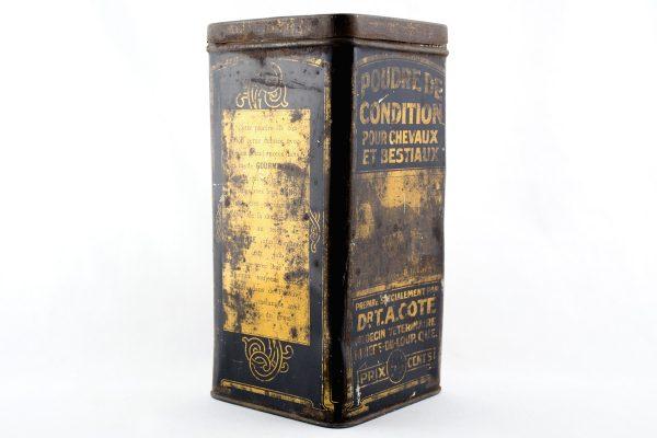Dr. T.A. Cote. Powder Medicine