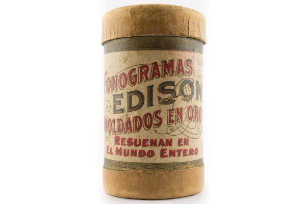 Fonogramas Edison Phonographic cylinder