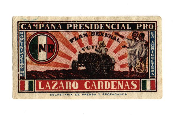 Lazaro-Cardenas-Post-Stamp