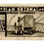 Lázaro Cárdenas Post Stamp