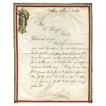 Porfirio Díaz-Letter written to Octaviano Licéaga