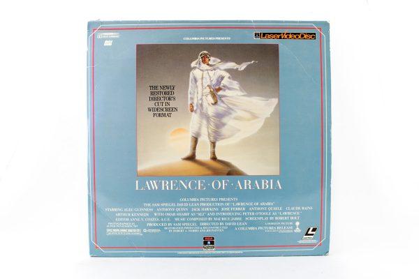 RCA. Lawrence of Arabia Laserdisc